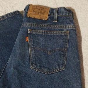 orange tag Levi's jeans -33 x 31, vintage